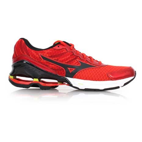 【MIZUNO】WAVE FRONTIER 9 男慢跑鞋 - 路跑 運動 美津濃 紅黑