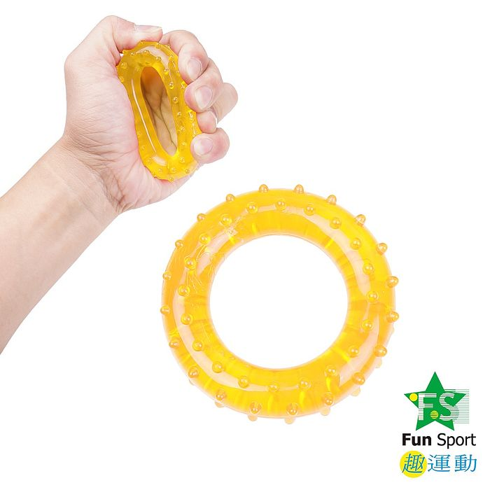 《Fun Sport》指掌圈套訓練環(二入)/握力環/練指器