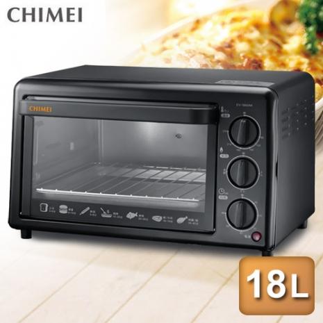 【CHIMEI奇美】18公升機械式電烤箱 EV-18A0AK