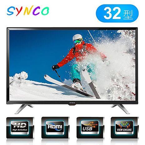 SYNCO 新格 32吋HD高畫質液晶顯示器 LT-32TA16A