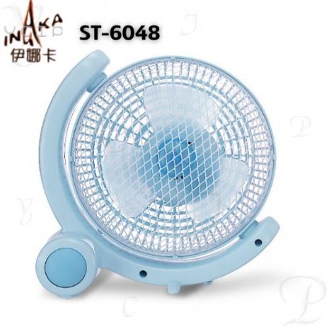 【伊娜卡】6吋迷你掛壁扇 (ST-6048)