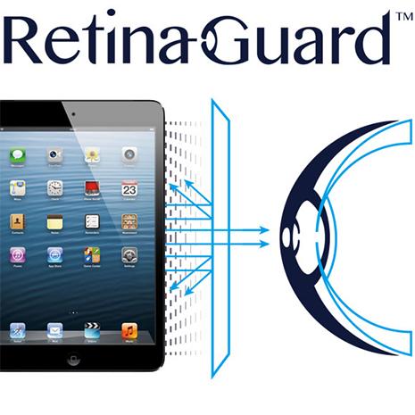 視網盾 iPad4/New iPad  眼睛防護 防藍光保護膜