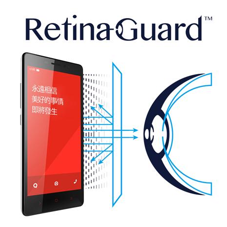 視網盾 紅米Note 防藍光保護貼 眼睛防護