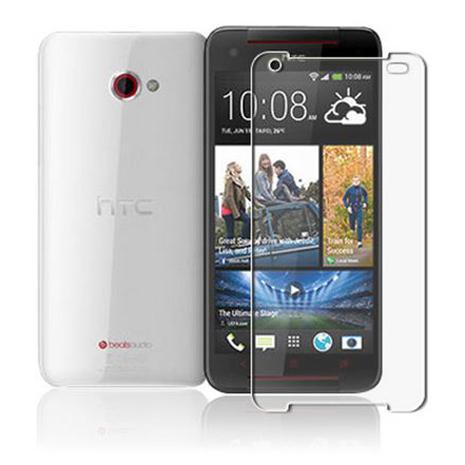 HTC 蝴蝶機2 Bufferfly S HC晶透抗刮磨螢幕保護貼