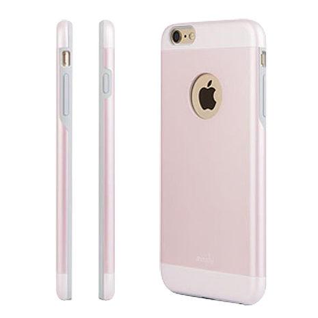 moshi iGlaze  iPhone 6/6S Plus 超薄時尚保護背殼(粉)