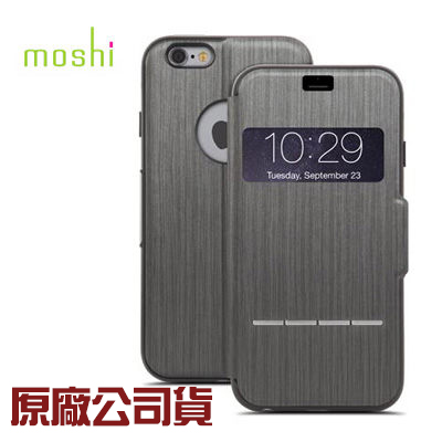 {原廠公司貨}Moshi iPhone 6/6S Plus 極簡風格的感應式極簡保護套