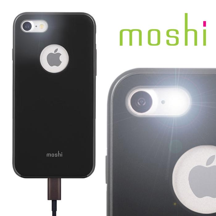 Moshi iGlaze for iPhone 7 超薄時尚保護背殼(經典黑)