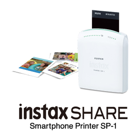 【FUJIFILM】instax SHARE SP-1 富士印相機SP1(公司貨保固1年)Wi-Fi!贈底片共100張!