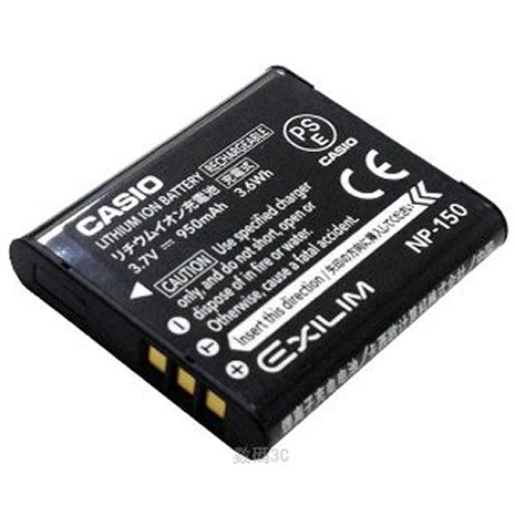 【CASIO】NP-150 原廠鋰電池(裸裝)(TR60,TR50,TR35等TR系列自拍神器適用)