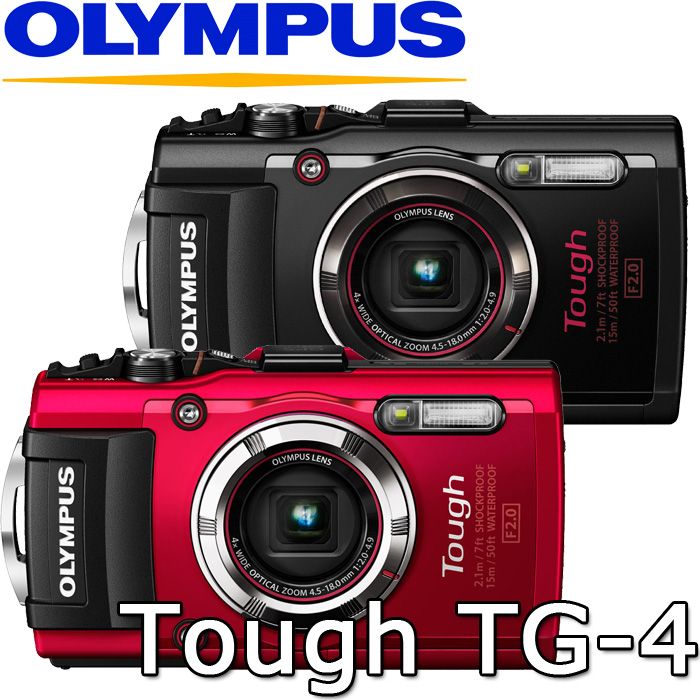 Olympus TG-4數位相機TG4(公司貨)防水防塵防震耐壓!