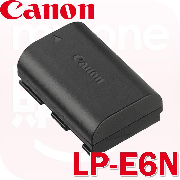 Canon LP-E6N 原廠鋰電池(盒裝)適用EOS 5DIII 5DII 6D 7D 7DII 80D 70D等相機