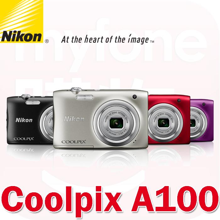 Nikon A100數位相機(公司貨)袖珍!5倍光學變焦!2千萬像素!