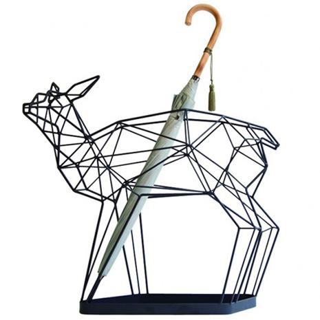 小鹿傘架 (黑色)
