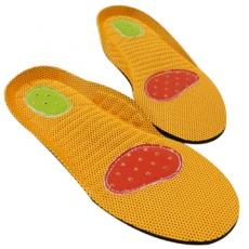 純牛皮前後跟防滑鞋墊^(1雙^)男女 鞋墊防滑防臭抑菌