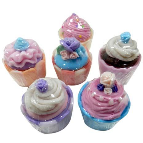甜點杯子蛋糕禮盒2入/手工皂/肥皂/禮盒/香皂