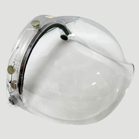 安全帽泡泡鏡面甲式-台灣製造/抗uv/耐磨不暈眩/安全帽鏡片-三色可選