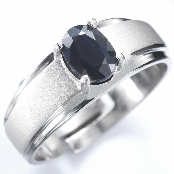 【雅紅珠寶】真情相愛天然0.5克拉黑藍寶石戒指-活圍設計