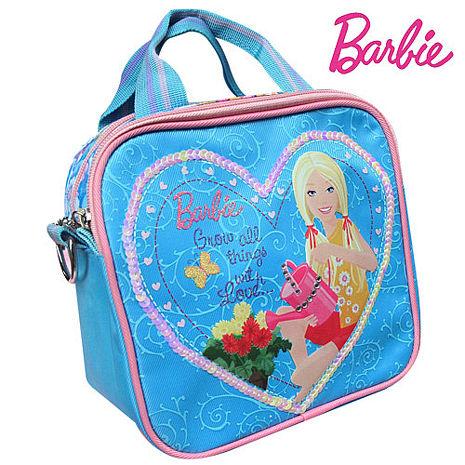 芭比Barbie 滿園花開手提包 (藍)