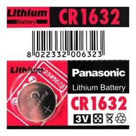 Panasonic CR1632 鈕扣型鋰電池 3V