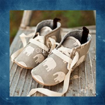 【瑞瑞比歐美童裝】美國Gracious May手工寶寶鞋/童鞋/學步鞋(幸福王子)