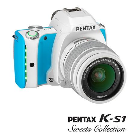 PENTAX K-S1+DAL18-55mm糖果色限定版【公司貨】
