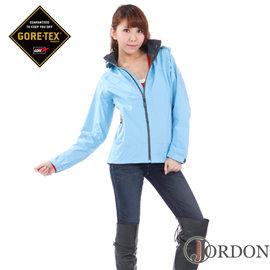 【JORDON】GORE-TEX PACLITE 女款 輕量化單件式防水透氣外套