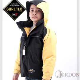 【JORDON】GORE-TEX防水透氣外套+羽絨保暖外套 兒童款兩件式(買就送GORE-TEX帽子喔)