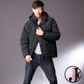 【JORDON】GORE-TEX 防水透氣 + 羽絨 男款 兩件式外套 (買再送GORE-TEX棒球帽)