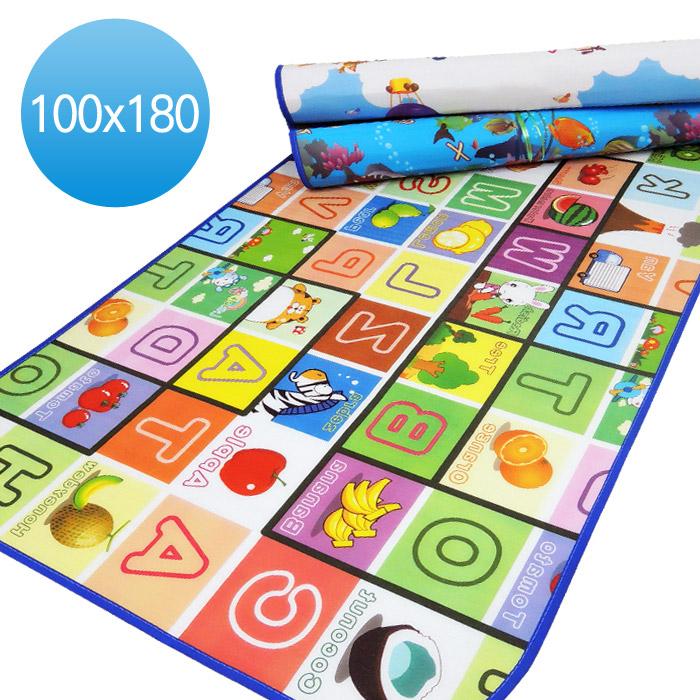 雙面 戶外野餐/兒童遊戲-彩色隔墊防水地墊 (雙面圖案隨機組合)app搶購