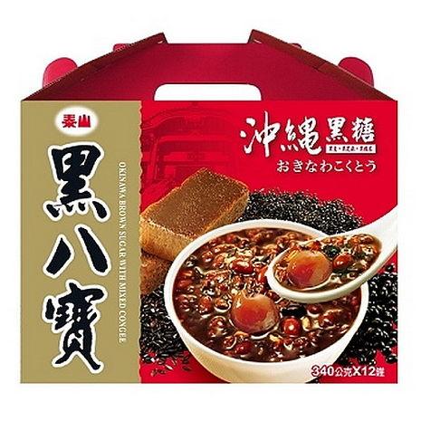 【泰山】黑八寶禮盒2盒(12罐/盒)(共24罐)