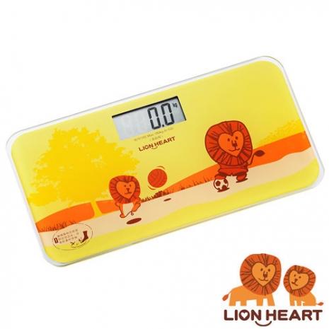 【獅子心 Lion】電子體重計 LBS-009