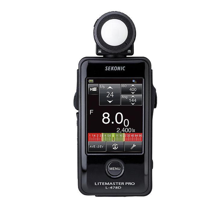 SEKONIC L-478D攝影/電影測光表(觸控螢幕)