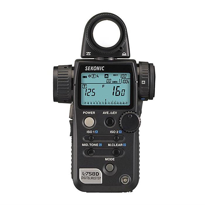 SEKONIC L-758D數位電影測光表(人射/反射兩用)