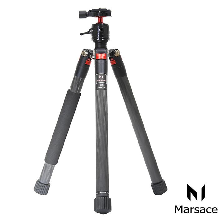 Marsace C15i攜帶型碳纖反折三腳架套組
