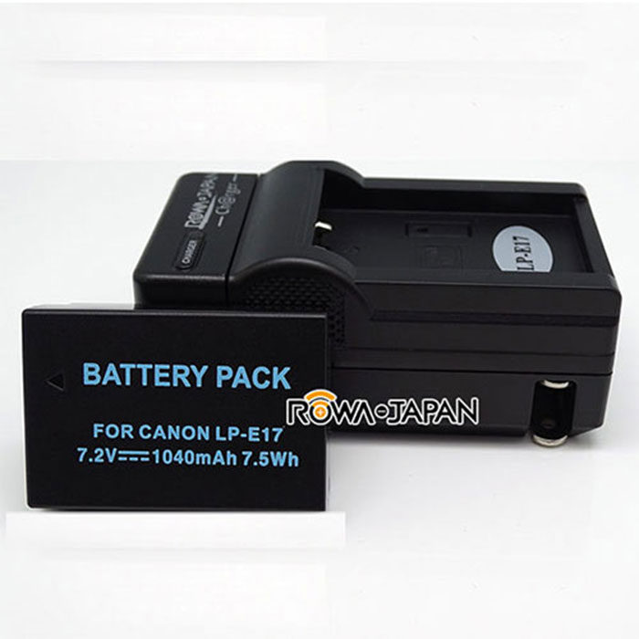 ROWA FOR CANON 專用鋰電池+充電器組 LP-E17 ( EOS M3 /EOS 750D /EOS 760D)(只適用於副廠充電器)