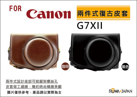Canon G7X Mark II 專用復古皮套