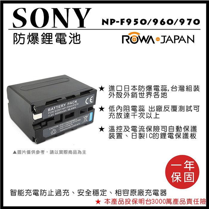樂華 SONY NP-F950 / 960 / 970電池 電量顯示 攝影燈 補光燈 F750