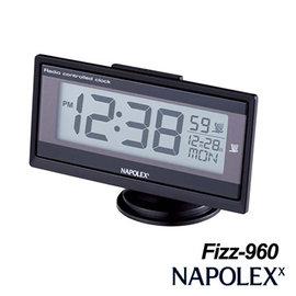 【預購】日本NAPOLEX 薄型電波時鐘 Fizz-960