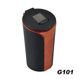 【預購】日本SEIWA 太陽能 感應式 煙灰缸(核木紋) G101