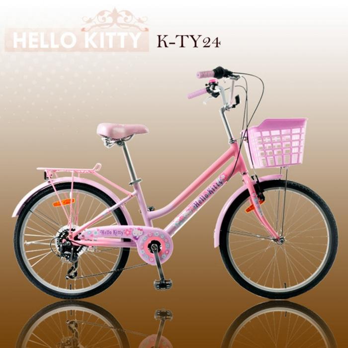 Hello Kitty 24吋6速淑女車(K-TY24)