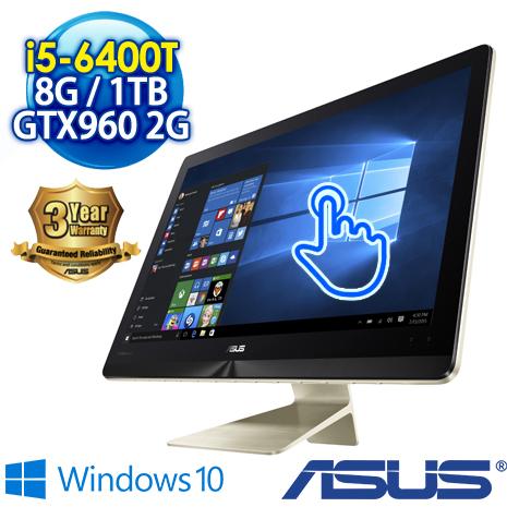 ★筆電瘋狂購★ASUS AIO PC Z220ICGT-640GG001X 21.5吋10點觸控 (i5-6400T/8G/1TB/GTX960M-2G/WIN10)