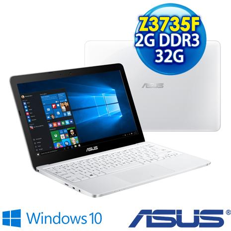 【瘋狂特殺】ASUS Eeebook X205TA-0361AZ3735F 11.6吋輕薄小筆電 白(Z3735F/2G/32G/Win10/OFFICE365)