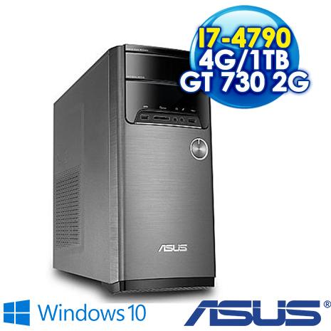 ★筆電瘋狂購★ASUS M32AD-0041C479GTT 桌上型電腦 (I7-4790/4G/1TB/GT730 2G/DRW/Win10)