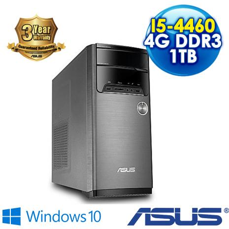 【瘋狂下殺 】ASUS M32AD-0011C446UMT 桌上型電腦 ( i5-4460/4G-DDR3/1TB/DRW/Win10)三年保固到府收送