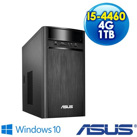 【瘋狂特殺】ASUS K31AD-0011A446UMT  雙核心桌上型電腦(I5-4460/4G/1TB/DRW/WIN10)