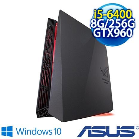 【瘋狂特殺】ASUS ROG G20CB-0031A640GXT 電競小桌機(i5-6400/8GB/256GB SSD/DVD-RW/NVIDIA GeForce GTX960 2GB /WIN10)三年保固 到府收送