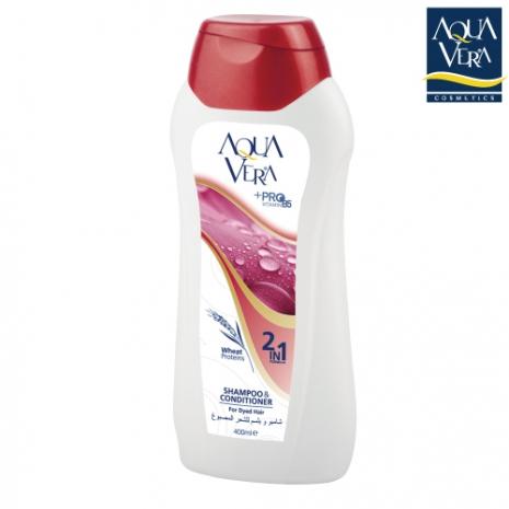 【土耳其 AQUAVERA】雙效合一染燙髮專用洗髮乳400ml (特賣)