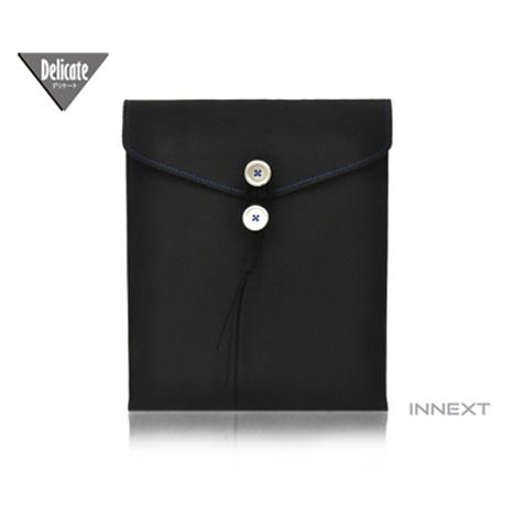 INNEXT Delicate new iPad/iPad/平板 超細纖維信封保護套(黑)