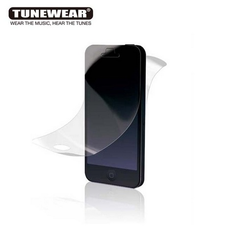 TUNEWEAR TUNEFILM iPhone SE/5S 增豔亮面保護貼 (正+背面)