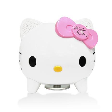 CAV Hello Kitty BuruTta藍芽震動喇叭(白/粉)